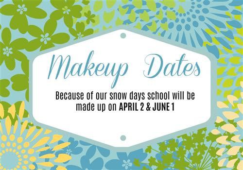 MPS Announces Snow Makeup Dates