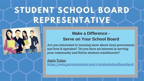 Student School Board Application