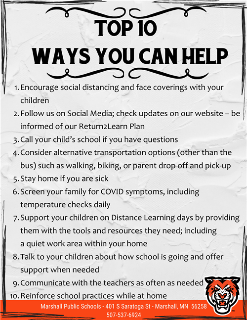 10 Ways You Can Help