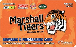 M Club Tiger Card